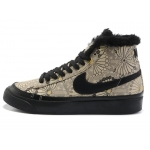 Nike Blazers Womens High Tops Shoes Brown Black