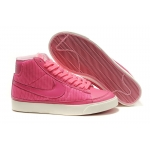 Nike Blazers Womens High Tops Shoes Pink