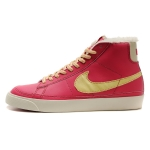 Nike Blazers Womens High Tops Shoes Red Yellow