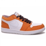 Air Jordan 1 Phat Low Orangge White