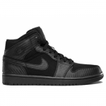 Air Jordan 1 phat mid black black 364770-004