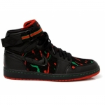 Air Jordan I High Tribe Called Quest Black Varsity Red Classic Green 342132-062