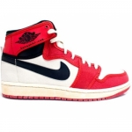 Air Jordan Retro 1 AJ KO Red White Black