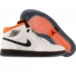 Air Jordan alpha 1 tinker hatfield birch black orange blaze 392813-201