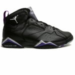 Air Jordan 7 Ray Allen Milwaukee Bucks Away PE Black Purple
