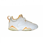 Air Jordan 7 Retro Low Sample White Orange 312833-181
