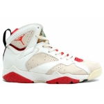 Air Jordan Original OG 7 Hare White Light Silver True Red 130014-100
