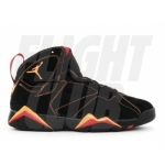 Air Jordan Retro 7 Black Citrus Varsity Red 304775 081