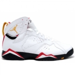 Air Jordan Retro 7 Cardinals White  Black Cardinal Red Bronze 304775-101
