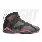 Air Jordan Retro 7 Defining Moments Black Silver Red 304775-043