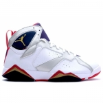Air Jordan Retro 7 Olympic White Metallic Gold True Red 304775-171