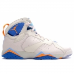 Air Jordan Retro 7 Pearl White Bright Ceramic Pacific Blue 304775-281