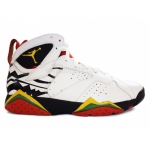 Air Jordan Retro 7 premio bin23 white del sol black chllng red 436206-101