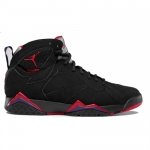 Air Jordan VII Retro 2012 Raptors Black True Red Dark Charcoal Club Purple 304775-018