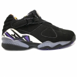 Air Jordan 8 Low Michael Bibby Sacramento Kings PE Black JBM155M7C1