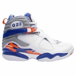 Air Jordan 8 Quentin Richardson Player Exclusive PE White Blue Orange