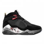 Air Jordan 8.0 Black Varsity Red Flint Grey White 467807-010