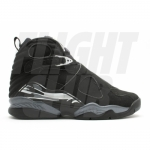 Air Jordan Retro 8 Shoes Black White 305381-001