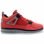 Air Jordan Force Fusion IV 4 Varsity Red Cement 384393-601