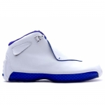 Air Jordan 18 Original OG White Sport Royal 305869-101