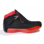 Air Jordan Retro 18 Shoes Black Red