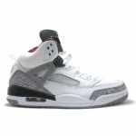 Air Jordan Spizike white cement grey varsity red black 315371-101