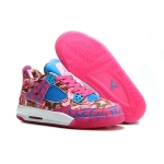 2014 new air jordan 4 limited edition pink rose women shoes