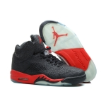2014 new arrival 599581 001 Air Jordan 5 Black Red