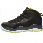 Air Jordan X (10) Retro 2014 Venom Green (310805 033)
