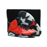 cheap Nike 309387 666 Air Jordan 6 retro red white black
